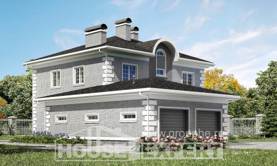 245-004-L Two Story House Plans with garage in back, beautiful Online Floor