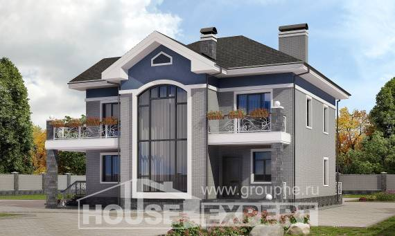 200-006-L Two Story House Plans, cozy Dream Plan