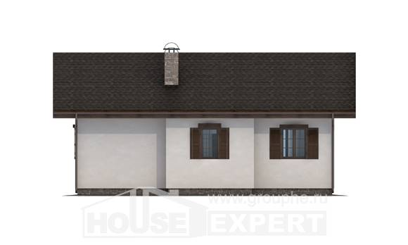 090-002-R One Story House Plans, best house Cottages Plans