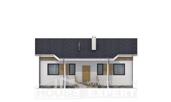 080-004-R One Story House Plans, beautiful Plans To Build