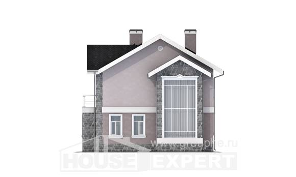 170-008-R Two Story House Plans, the budget Plan Online