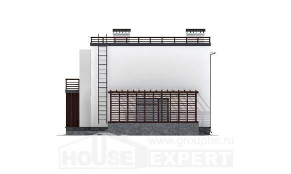 215-002-R Two Story House Plans, a simple House Plans
