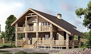 160-010-L Two Story House Plans with mansard roof, classic Custom Home Plans Online