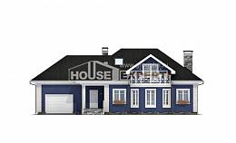 180-010-L Two Story House Plans with mansard roof with garage in back, beautiful Blueprints of House Plans