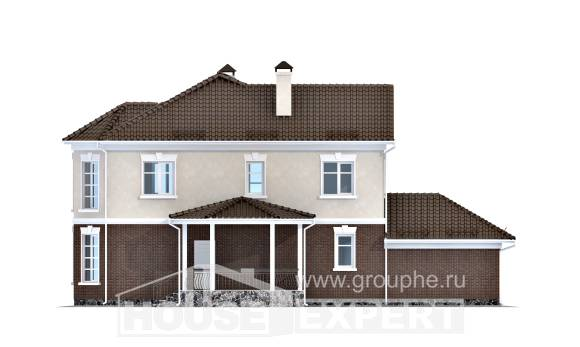 190-002-L Two Story House Plans and garage, best house Architectural Plans