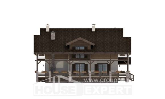 260-001-R Two Story House Plans with mansard roof, best house House Plans