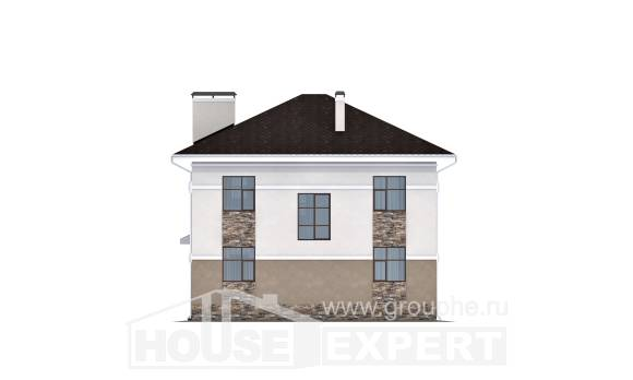 150-014-R Two Story House Plans, beautiful Custom Home Plans Online