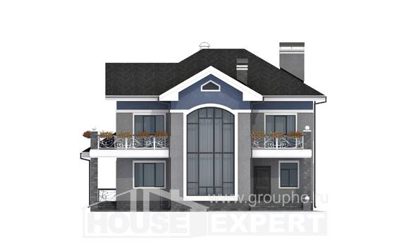 200-006-L Two Story House Plans, a simple House Building