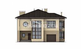 300-006-R Two Story House Plans with garage in back, luxury Plans To Build