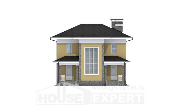 155-011-L Two Story House Plans, classic Plan Online
