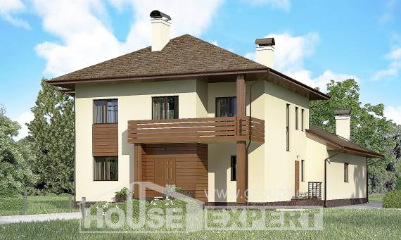300-001-R Two Story House Plans, a huge Construction Plans