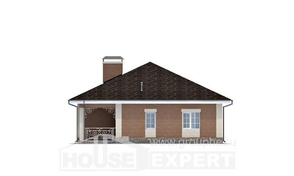 100-004-R One Story House Plans, modern Models Plans