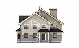 300-004-R Two Story House Plans, big Woodhouses Plans