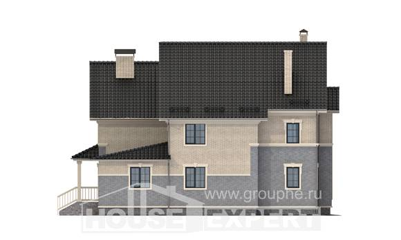 300-004-R Two Story House Plans, classic Construction Plans