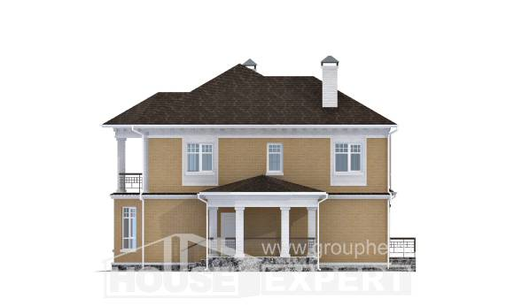 160-001-L Two Story House Plans, the budget House Planes