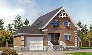 200-009-L Three Story House Plans and mansard with garage under, best house Dream Plan