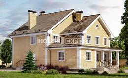 320-003-L Two Story House Plans, spacious Plans To Build
