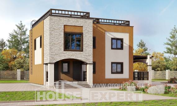 150-010-L Two Story House Plans, available House Building