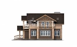 160-014-R Two Story House Plans, cozy Planning And Design