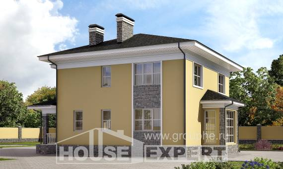 155-011-L Two Story House Plans, best house Building Plan