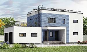 180-012-L Two Story House Plans and garage, best house Blueprints of House Plans