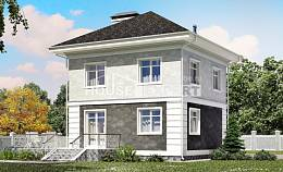 090-003-R Two Story House Plans, economical Ranch