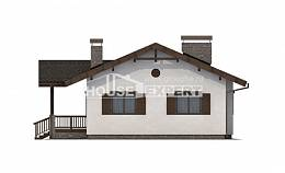 090-002-R One Story House Plans, classic Villa Plan