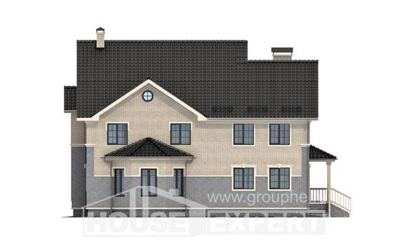 300-004-R Two Story House Plans, beautiful Home Blueprints