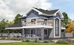 200-006-L Two Story House Plans, spacious House Plan