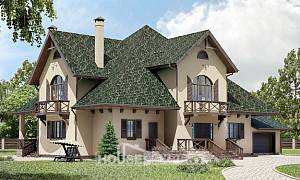 350-001-R Two Story House Plans with mansard with garage in front, best house Custom Home Plans Online