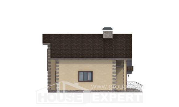 150-003-R Two Story House Plans and garage, modern House Building