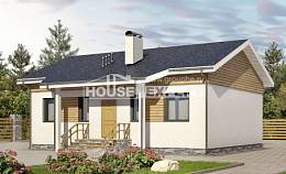 080-004-R One Story House Plans, the budget Custom Home Plans Online