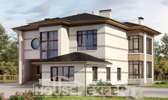 345-001-R Two Story House Plans, spacious Plans To Build