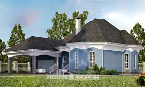 180-007-L Two Story House Plans with mansard roof with garage under, cozy Home Blueprints