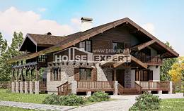 250-003-R Two Story House Plans with mansard, best house Construction Plans