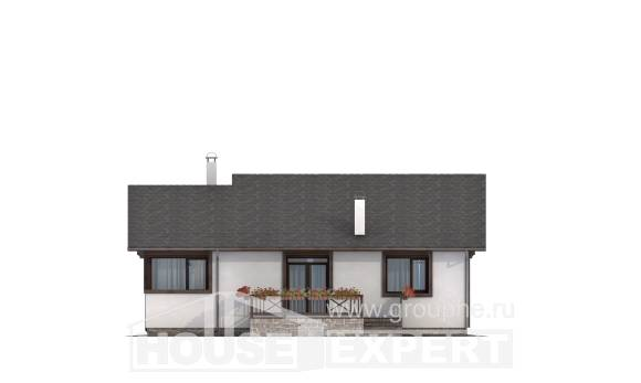 110-003-R One Story House Plans, cozy Custom Home Plans Online