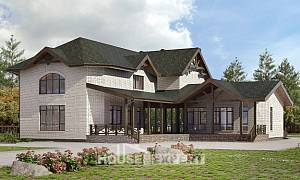 340-004-L Two Story House Plans, cozy Plan Online