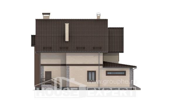 265-003-L Two Story House Plans, a huge Cottages Plans