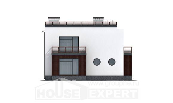 215-002-R Two Story House Plans, luxury Home House