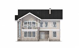 170-008-L Two Story House Plans, the budget Dream Plan