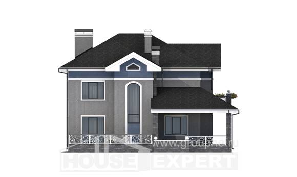200-006-L Two Story House Plans, a simple Planning And Design
