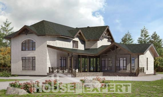 340-004-L Two Story House Plans, classic House Plan