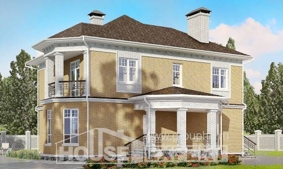 160-001-L Two Story House Plans, modern Blueprints of House Plans