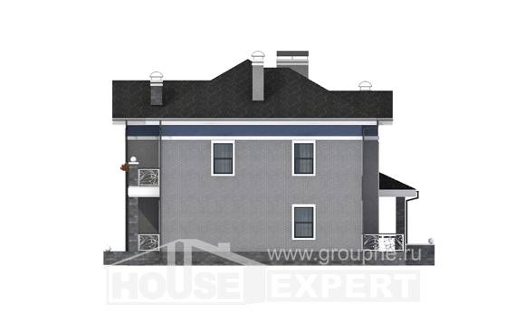 200-006-L Two Story House Plans, classic Planning And Design