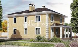 220-006-L Two Story House Plans and garage, best house Architects House