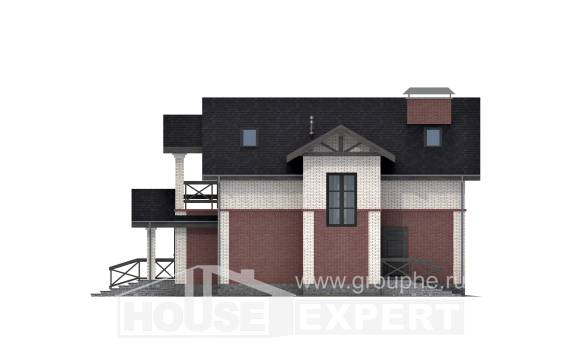 160-014-L Two Story House Plans, a simple House Online