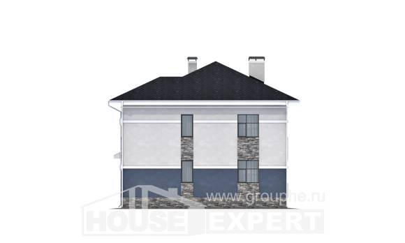 150-014-L Two Story House Plans, a simple Plan Online