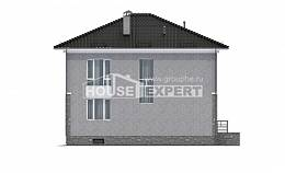 275-004-R Three Story House Plans with garage under, spacious Planning And Design
