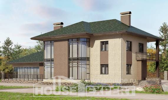 305-003-R Two Story House Plans, modern Plan Online