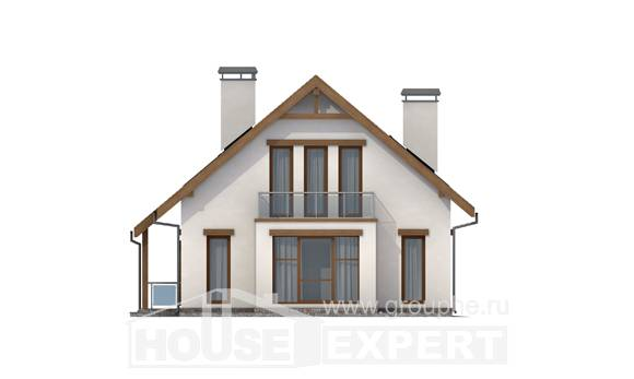155-012-R Two Story House Plans with mansard roof, beautiful House Planes